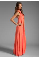 Pally Shu Maxi Dress in Orange in (orange) - Lyst