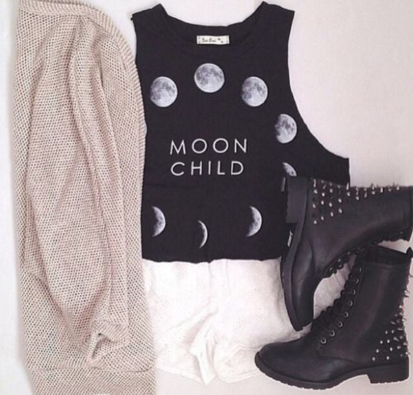 shoes moon boots t-shirt shorts jacket swag sweater shirt t-shirt moonchild