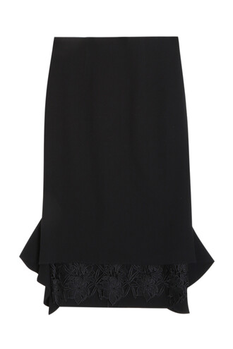 skirt lace skirt lace black