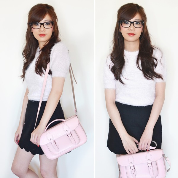 temporary secretary blogger top bag