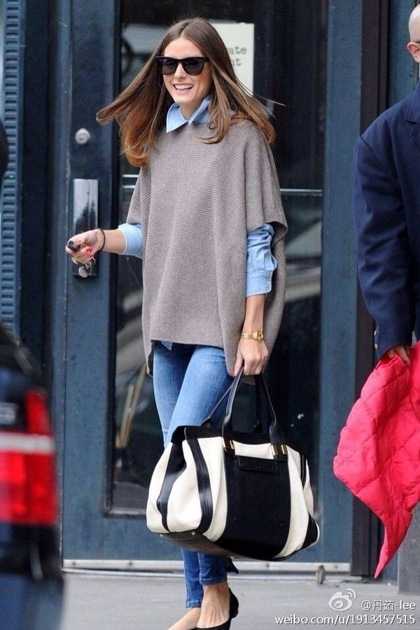 sweater olivia palermo chic