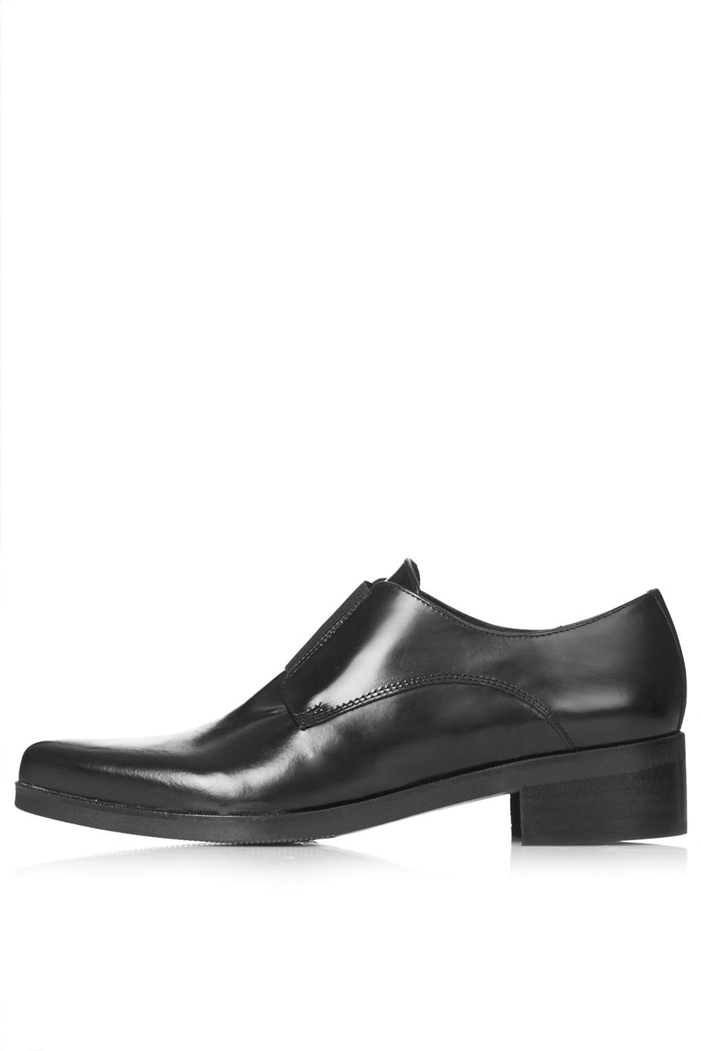 KALE Elastic Leather Loafers