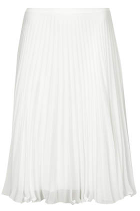 Sunray Pleat Midi Skirt - Topshop