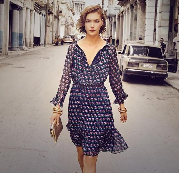 71d482a385a8 dress boho dress floral dress floral long sleeves flowy dress flowy summer  dress