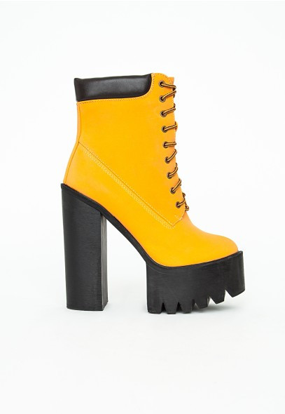 Agnes cleated ankle boots
