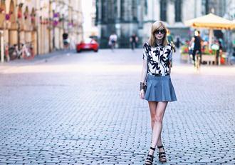 shirt shoes skirt bag jewels sunglasses bekleidet