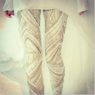 pants gold newcrystalwave newcrystalwavetights newcrystalwavebling sequin pants
