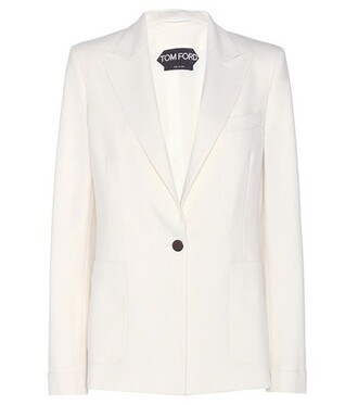 jacket wool jacket wool white