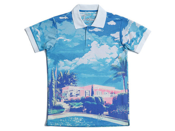 t-shirt printed tee polo polo shirts printed t-shirts printed polo blue paradise