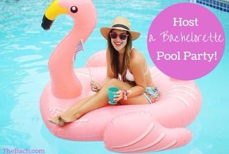swimwear white bikini pool accessory
