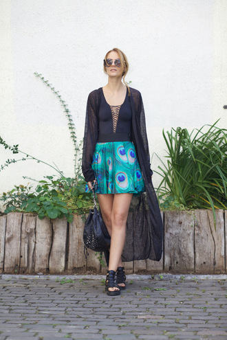 from brussels with love blogger skirt shoes dress cardigan sunglasses bag