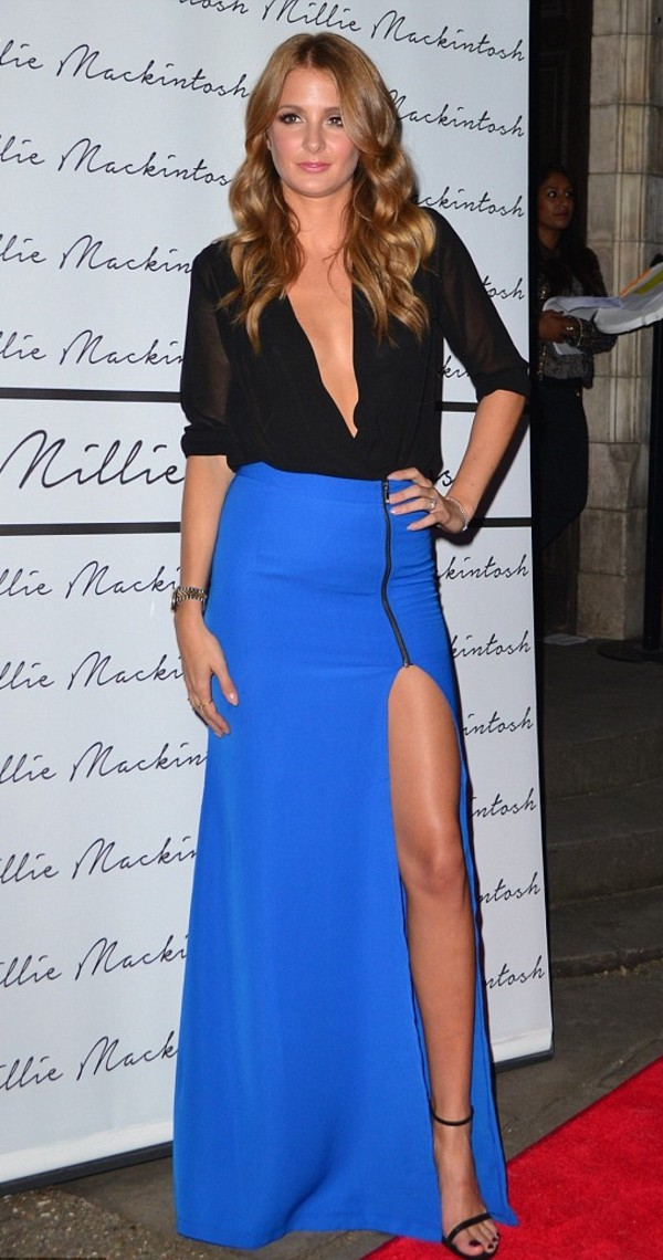 skirt maxi skirt millie mackintosh