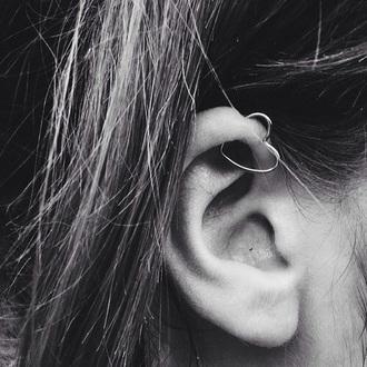 jewels heart earrings heart