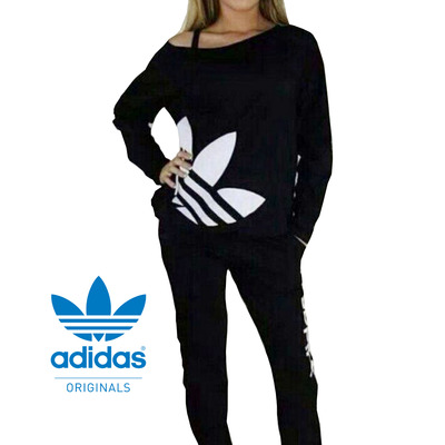 adidas neon women sports suit track suit sleeping suit set. Black Bedroom Furniture Sets. Home Design Ideas