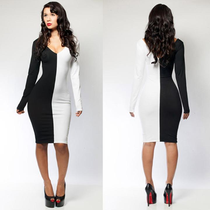 Black/white bodycon dress · summah breeeze · online store powered by storenvy