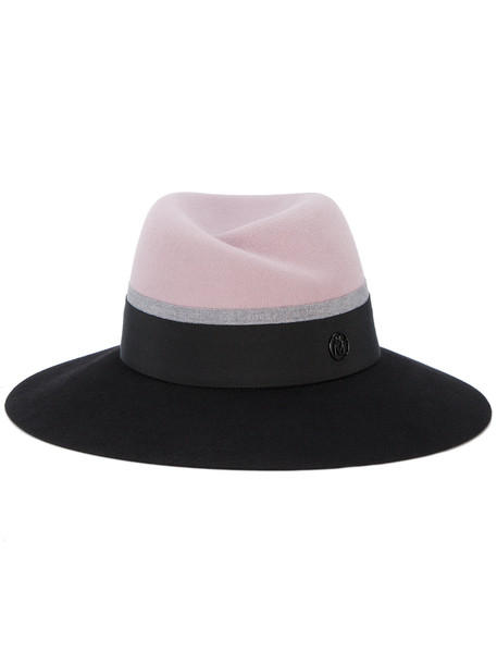 hat purple pink