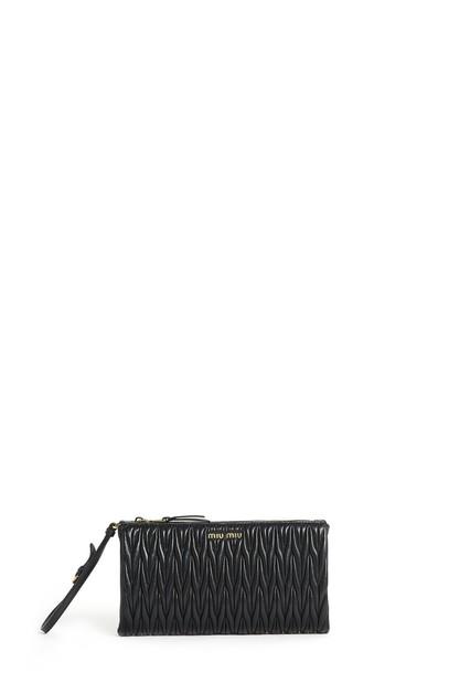 Miu Miu clutch black bag