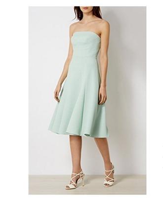 dress mint dress prom dress