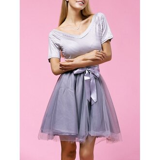 dress girly fashion style trendy cute party prom adorable outfit kawaii blue rosewholesale.com