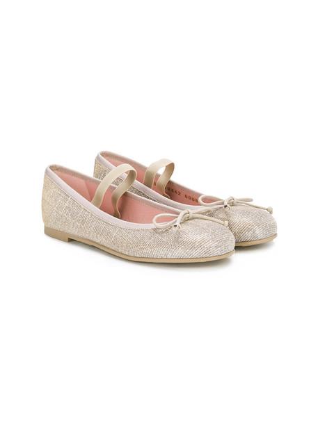 Pretty Ballerinas Kids shoes leather grey metallic
