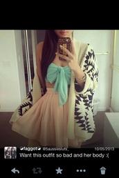 dress,light green crop top,skirt,jacket,blouse,shirt,pink skirt,patterned carting an