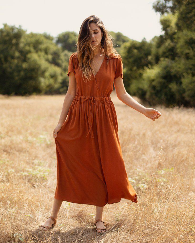 The Dawn Dress | Rust