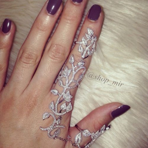 jewels fashion jewelry ring finger ring knuckle ring flowers floral nails nail polish winter outfits fall outfits silver sterling silver silver ring sterling silver rin sterling silver ring 925 silver 925 ring 925 sterling silver ring 925 sterling silver