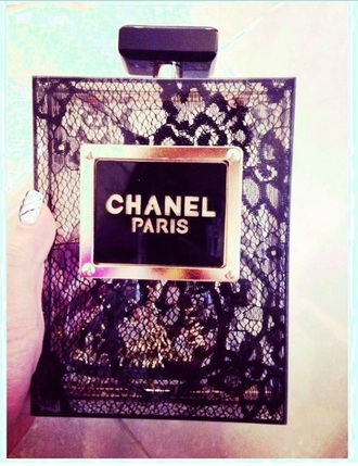 bag chanel purfume black style coco channel trendy fashion