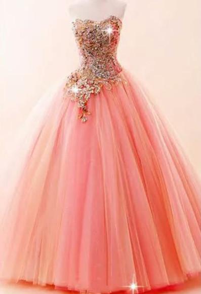 pink dress quinceanera dress website