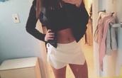 skirt,skorts,origami skort,white