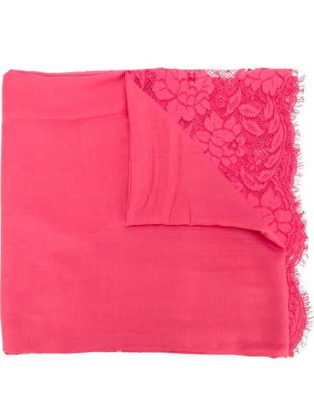 Valentino scarf lace purple pink