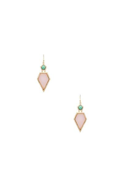 earrings teal
