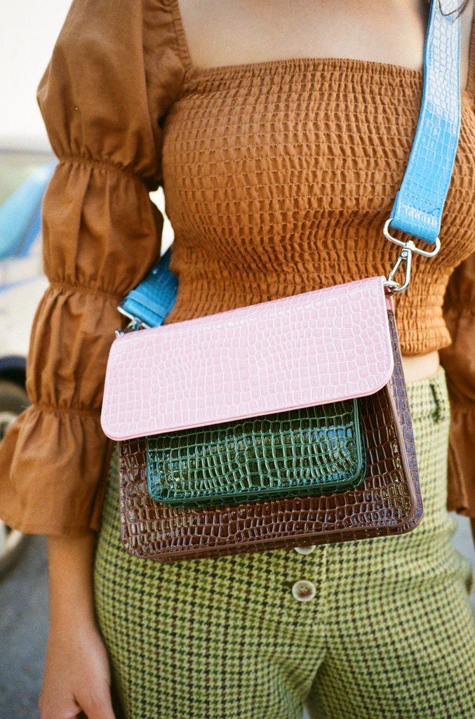 Cayman Pocket Bag - Pink Multi