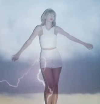 crop tops shorts white taylor swift
