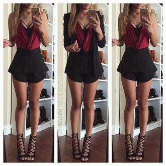romper fashion clothes bodysuit style