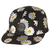 SURFSTITCH - ACCESSORIES - CAPS - WOMENS - RUSTY DAISY FIVE PANEL CAP - BLACK