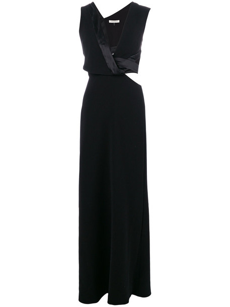 Halston Heritage dress maxi dress maxi women black