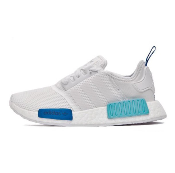 adidas shoes for girls blue. shoes cute blue white girly girl wishlist adidas originals nmd for girls o