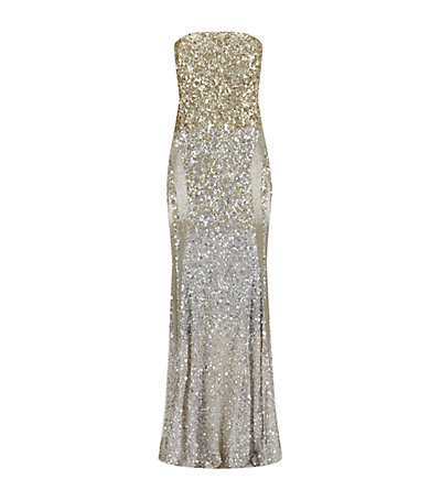 Rachel Gilbert Piper Sequin Gown | Harrods