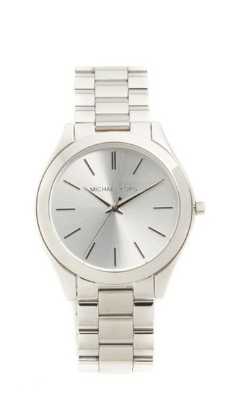 Michael Kors Slim Runway Watch - Silver