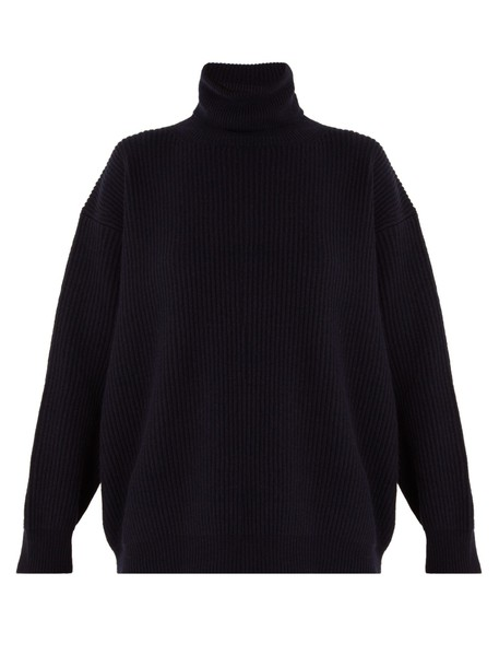Stella McCartney sweater wool navy