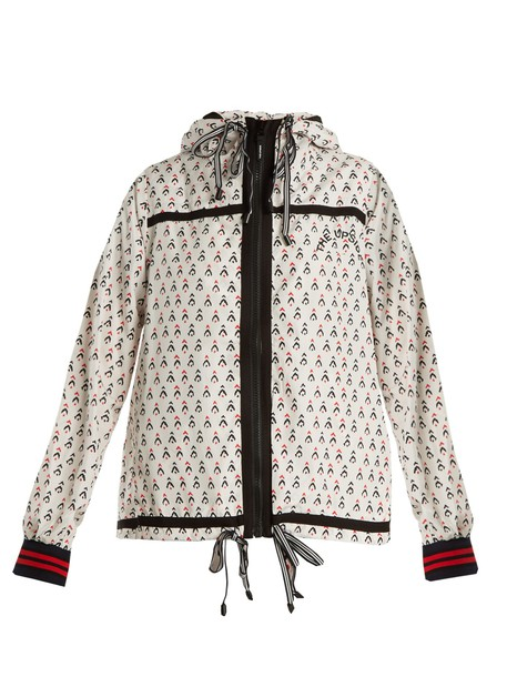 jacket witch print white