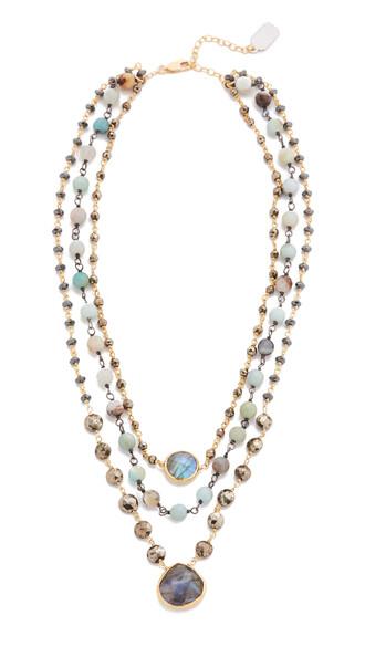 opal necklace jewels