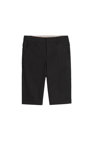 shorts bermuda cotton black