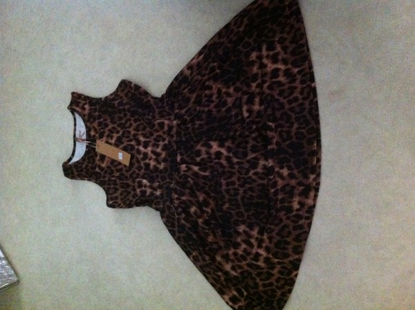 ab713f69b3e Womens Sleeveless Flared Franki Party Ladies Plus Size Skater Dress ...