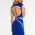 Blue Mini Dress - Quontum Blue Backless Wrap Strap | UsTrendy