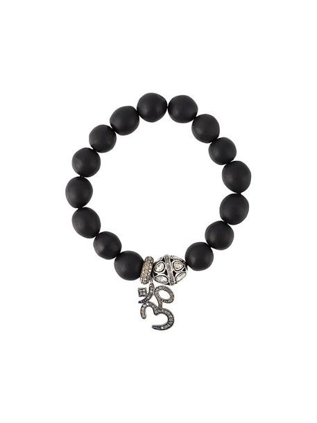 Gemco women silver black jewels