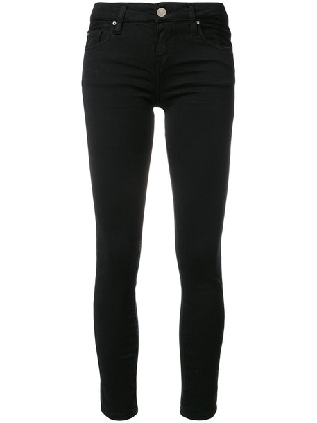 Iro pants women spandex fit cotton black