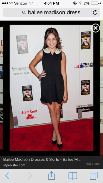 dress bailee madison bailee madison cool amazing black fashion short vibe wish cute nice popular the most popular dresses beaded modern nice color flow aaammmaazzzinnnnggg black high waisted