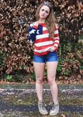 Sirenlondon — america sweater